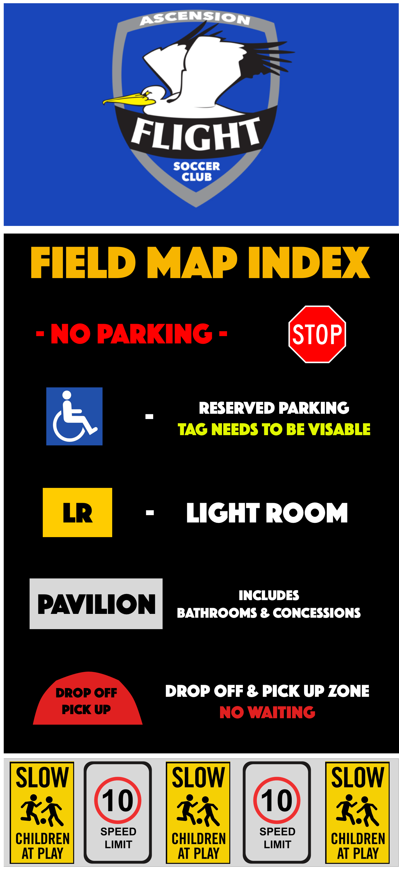 Field Map Index - Right Side