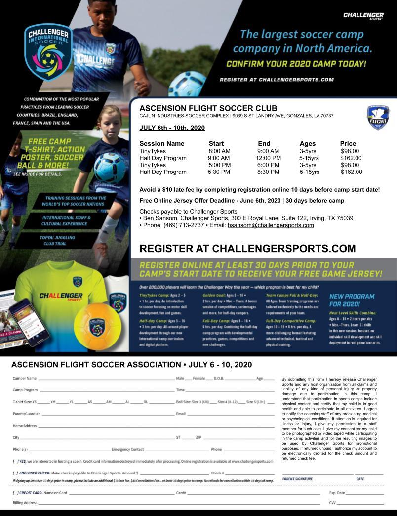 ascension flight soccer club - cis