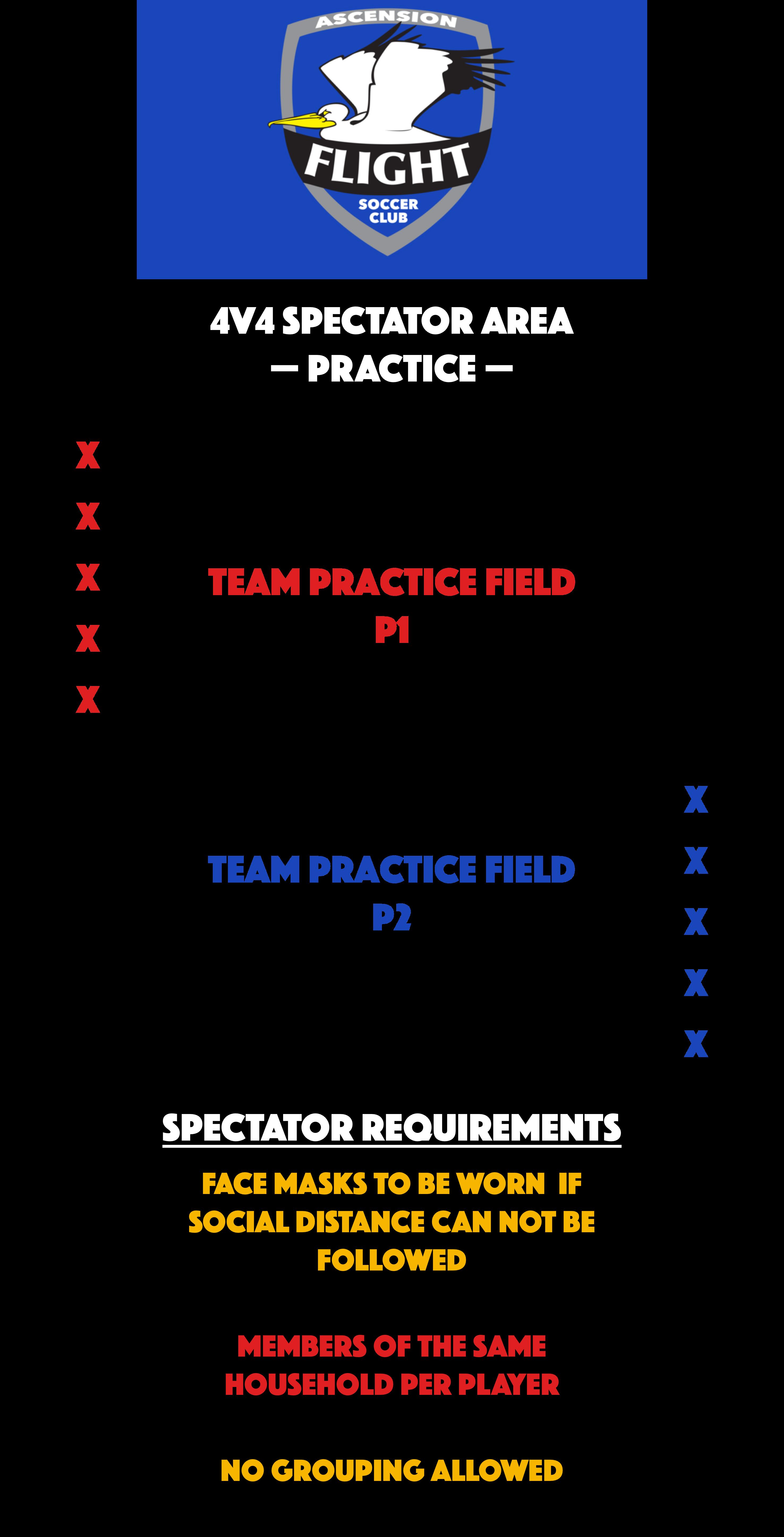 4v4 Spectator Area - Practice