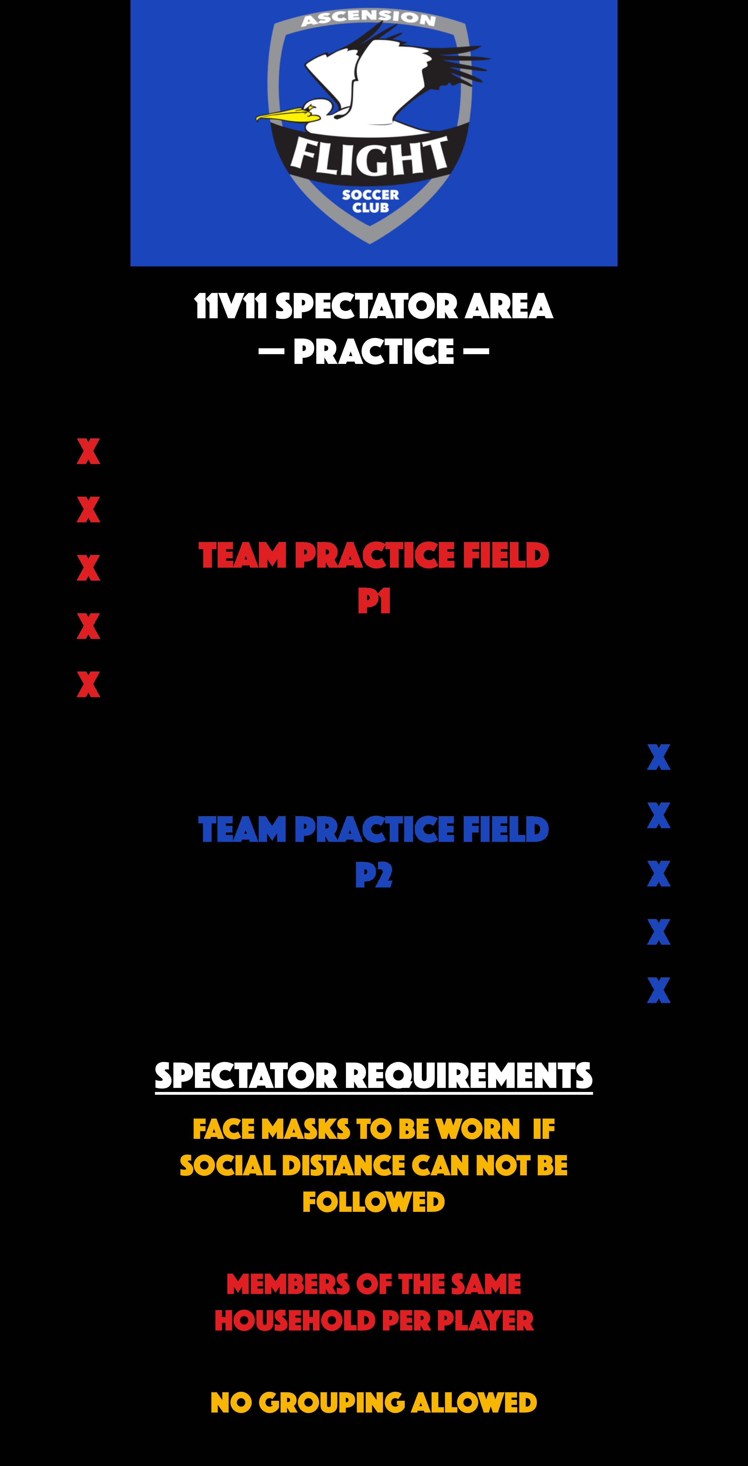 Rec 11v11 Spectator Area - Practice